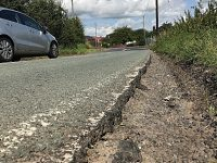 Readers' Letters: Fears over damaged section of road in Wistaston