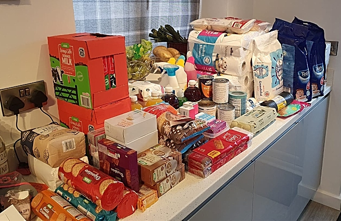 Donations so far - coronavirus isolation help group