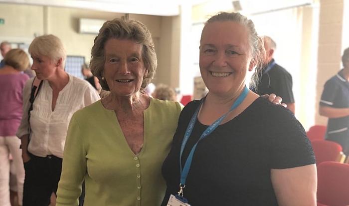 Dr Kate retirement - St Luke's Hospice