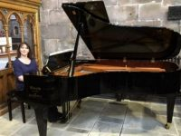 St Mary's Church in Nantwich tunes in with new grand piano