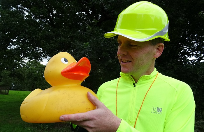 Duck marshal Jonathan White