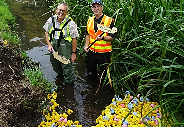 Duck marshals Mark Ray and Jonathan White (1)