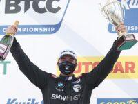 Tarporley racer Oliphant makes podium start in BTCC opener