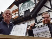 Nantwich bar Ebenezer's hosts silent movie display by local artist