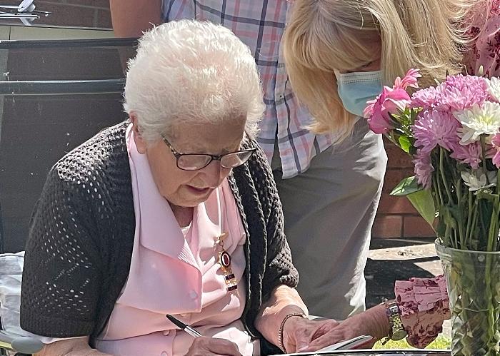 Edith Ridgway Willaston Honorary Freewoman 3