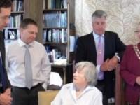 MP Edward Timpson and Nantwich Mayor visit Richmond Village