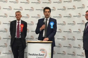 Edward Timpson beats Adrian Heald and Richard Lee in Crewe & Nantwich