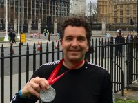 Edward Timpson completes London Marathon for MRI Scanner appeal