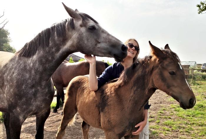 breeder - Elara foal - gold award for nantwich breeder