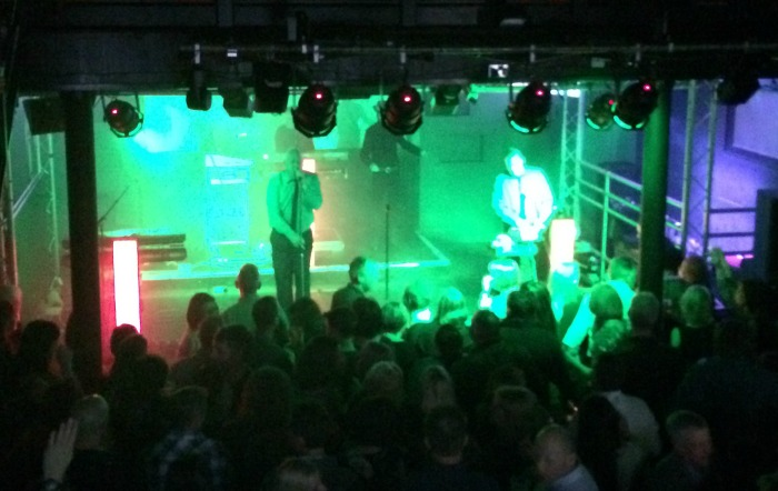 Electro 80s perform at The Studio Nightclub & Music - one of venues at Nantwich Jazz festival