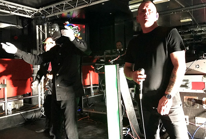Electro 80s perform at The Studio Nightclub and Entertainment Venue