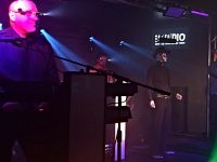 Electro 80s band helps raise hundreds at Nantwich benefit gig