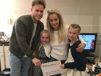 Brave Elle completes latest wish meeting Olly Murs and Rita Ora