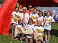 Elle's Stars girls raise more than £1,200 at Nantwich Duathlon event