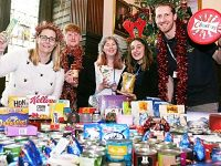 Reaseheath students donate 16 boxes to Nantwich Foodbank