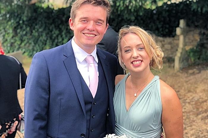 Emily and Sam set for Nantwich wedding