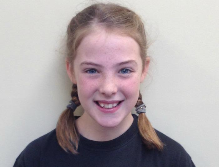 Emma Currie, in Shrek The Musical