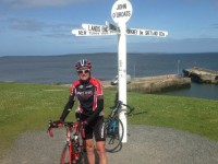 Audlem cyclist completes 4,000-mile coastal Britain ride in 44 days