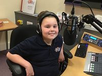 Rising radio star, 8, takes over The Cat FM show