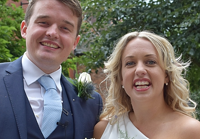 Example photo - St Marys Church Nantwich - first marriage since lockdown - Samuel and Emily (1)