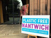 Plastic Free Nantwich art exhibition launches