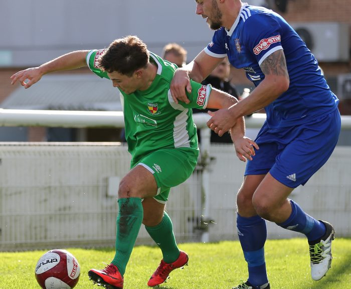 Nantwich Town against Farsley Celtic