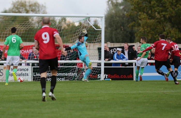 FC United score at Nantwich Town