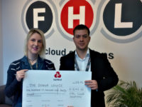 South Cheshire firm FHL raises £1,640 for Donna Louise Children's Hospice