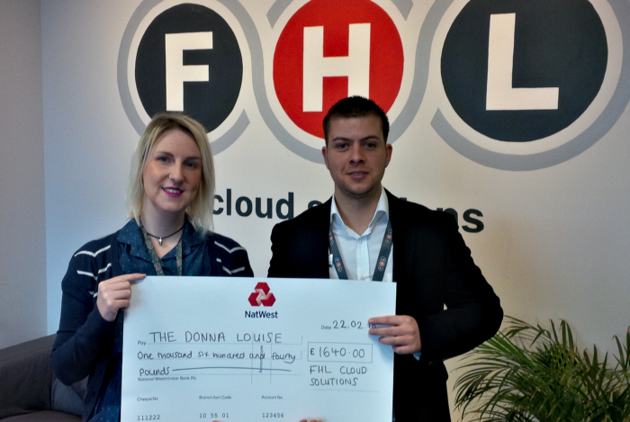 FHL donates to Donna Louise Hospice