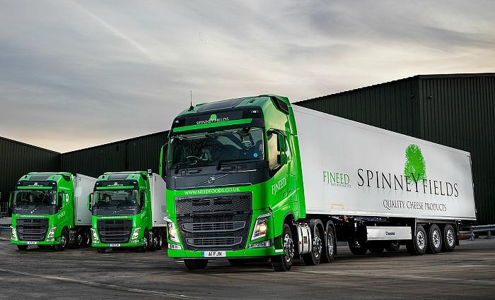 FJ Need Fleet of Spinneyfields lorries