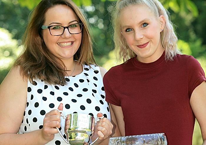 FLORISTRY L2 & 3 Award Winners Caroline Boffey & Chloe Morgan (1)