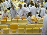 International Cheese winners at Nantwich Show
