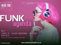 'FUNKagenda' event at Studio Nantwich