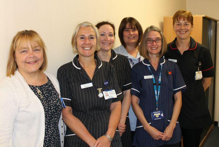 Leighton Hospital team to walk Sandstone Trail for MRI scanner appeal