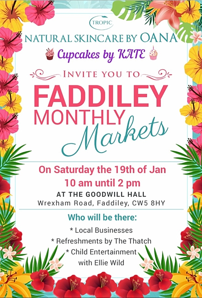 Faddiley Monthly Markets