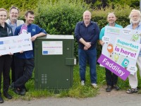 Superfast broadband launched in Faddiley and Brindley