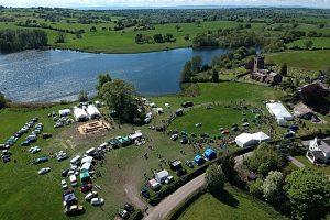 Marbury Merry Days fair aerial view