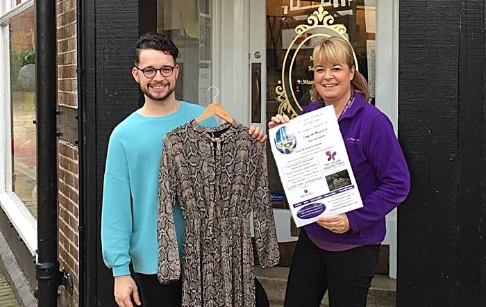 Fashion and Fizz charity night