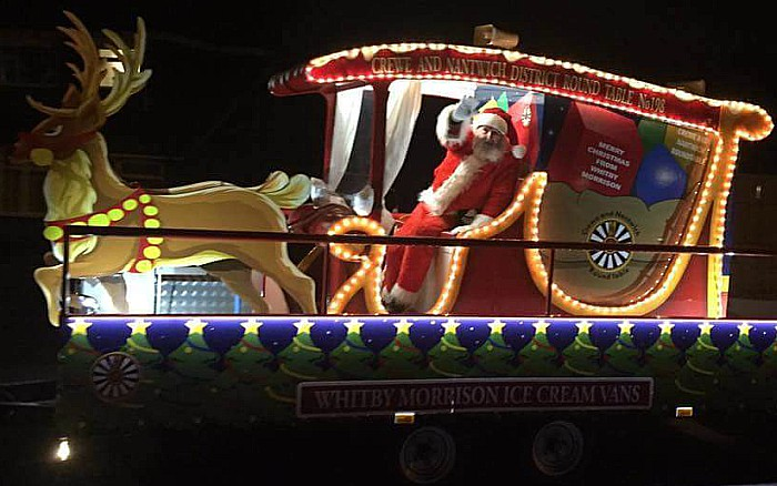 Father Christmas, Crewe and Nantwich Round Table