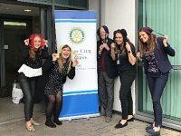 The County Group women bin bras for charity
