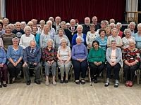 Nantwich Civic Hall Fifty Plus club celebrates 40th birthday