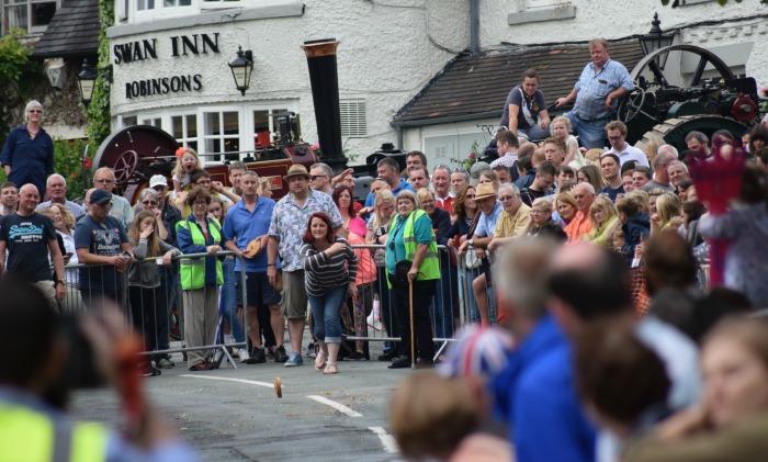 Fig Pie Wakes - Hundreds watch Wybunbury Fig Pie Wakes