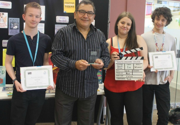 Nantwich Film Festival competition, won by college students