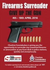 Firearms Surrender Poster