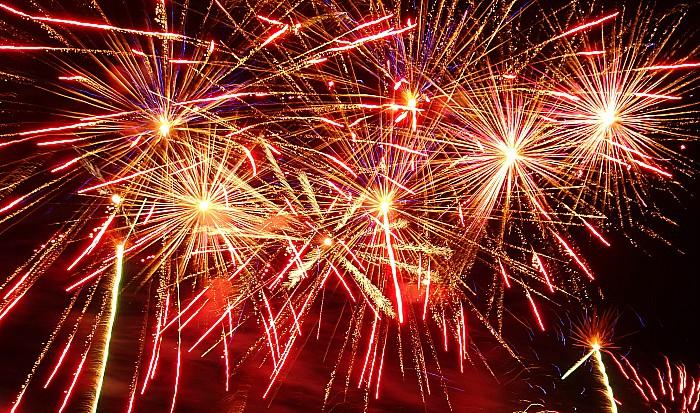 Fireworks Queens Park 1