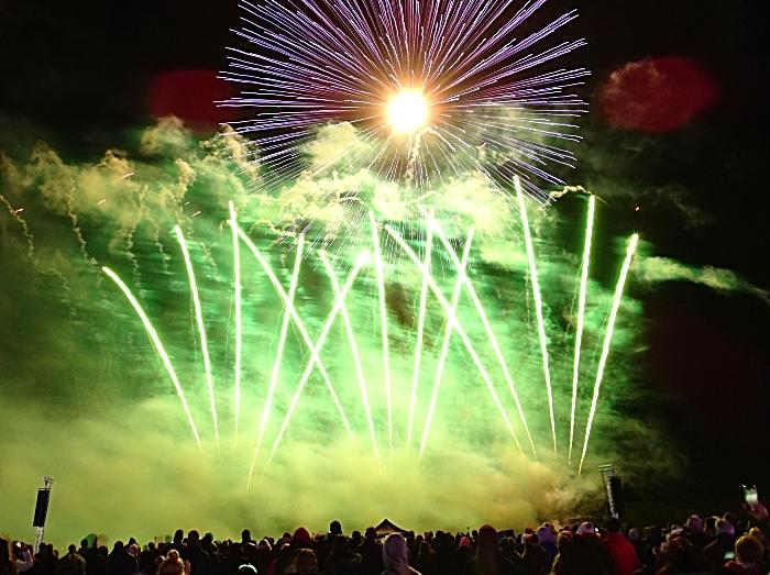 Fireworks display - Spooktacular 2