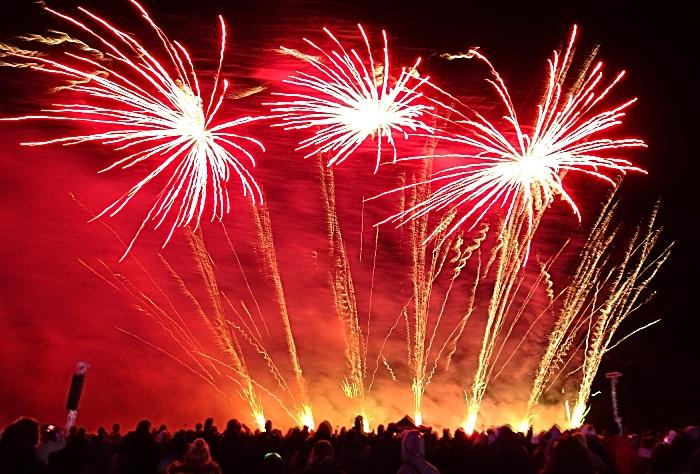 Fireworks display - spooktacular 3