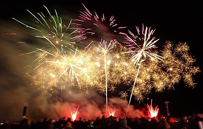 Fireworks display - spooktacular