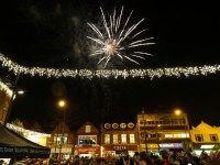 Hundreds turn out for Crewe Christmas lights switch-on