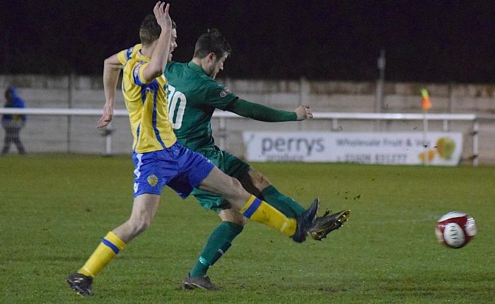 First Nantwich goal - Matt Bell against Warrington